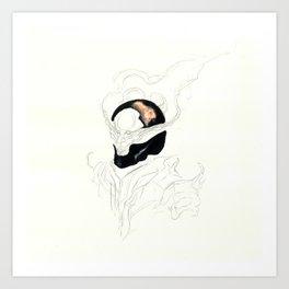 UnHuman#11 Art Print