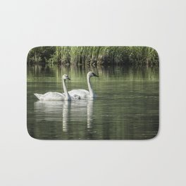 Family of Swans, No. 1 Bath Mat