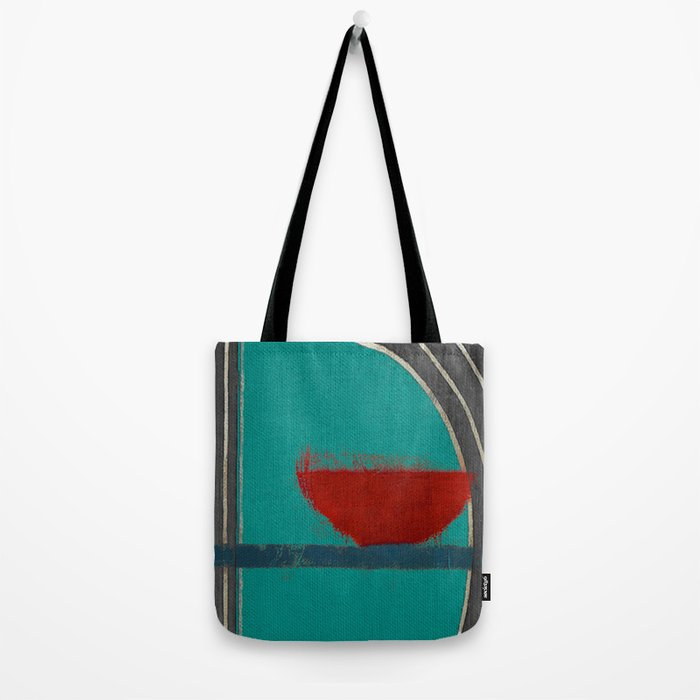 赤容器 (red pot) Tote Bag