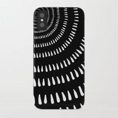 Fjorn black iPhone X Slim Case
