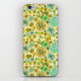 retro wall paper daydreams // art by surfy birdy iPhone Skin