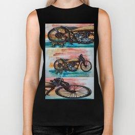 Antique Bike Biker Tank