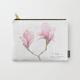 The Magnolia was dripping in gorgeousness Carry-All Pouch