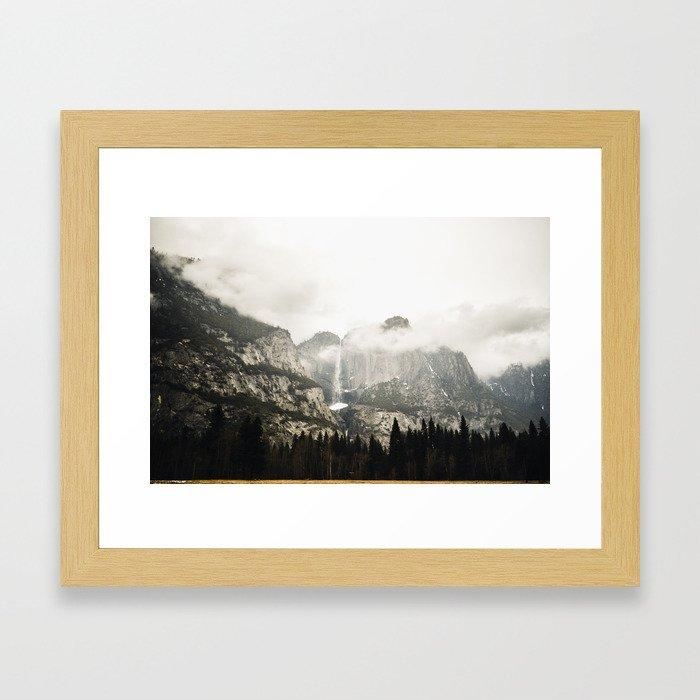 Yosemite in March Framed Art Print
