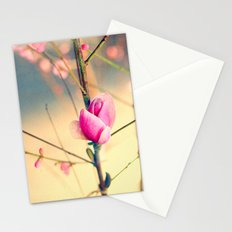 Textured Bloom Stationery Cards
