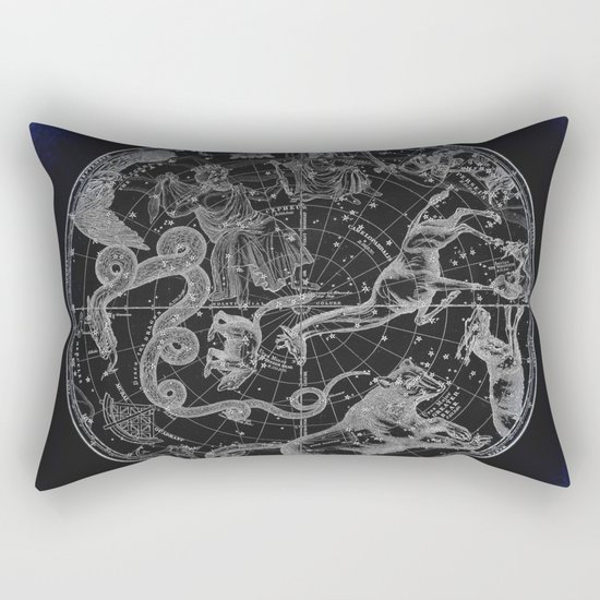 NY, Constellations Rectangular Pillow