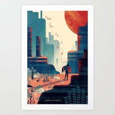 The Crossing Art Print
