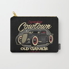 Classic Car Illustration Carry-All Pouch