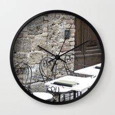Cream Cafe - Tuscany Wall Clock