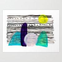 southwest Art Prints featuring Southwest by Jessalin Beutler