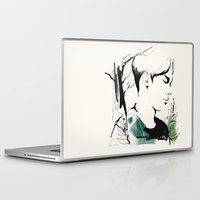 exo Laptop & iPad Skins featuring Love Me Right - Chen by putemphasis