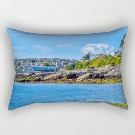 Falmouth from Flushing Beach Rectangular Pillow