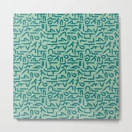 Asanas Metal Print