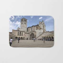 Basilica of St. Francis of Assisi - Assisi, Italy Bath Mat