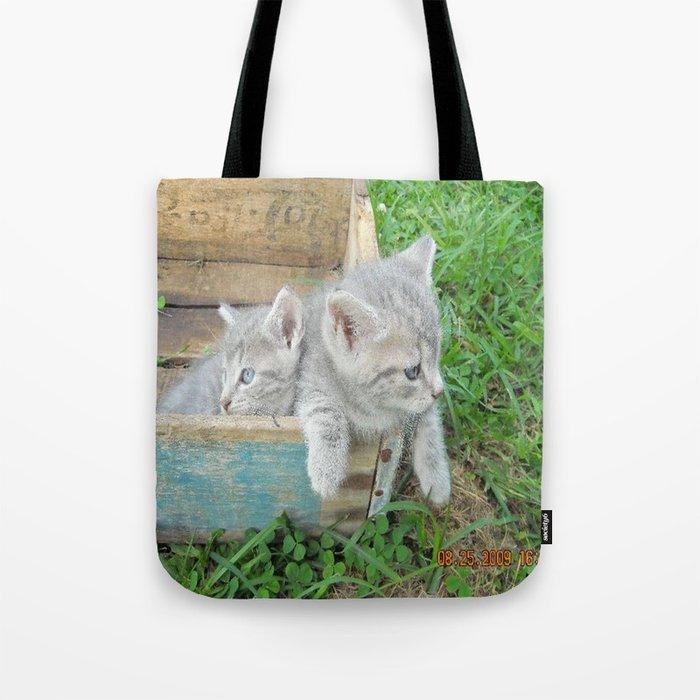 Twins chillin  Tote Bag