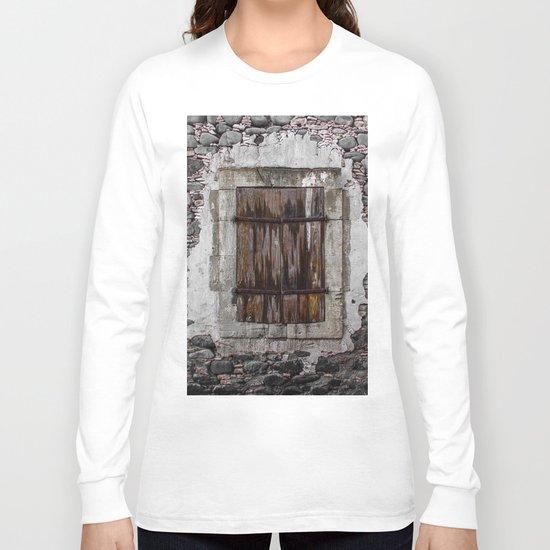 Wooden Window Long Sleeve T-shirt