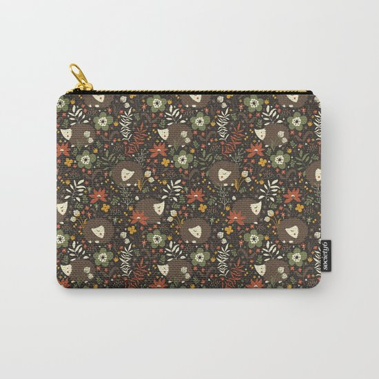 Cute Hedgehogs Carry-All Pouch