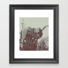 urban trunk Framed Art Print
