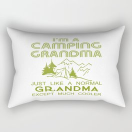 Camping Grandma Rectangular Pillow