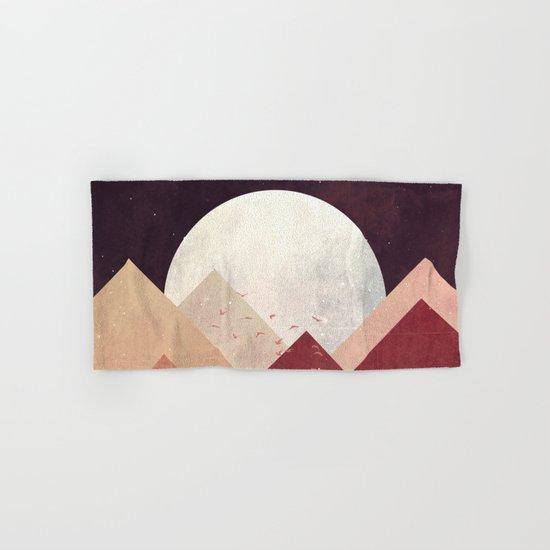 Midnight Mountains Hand & Bath Towel