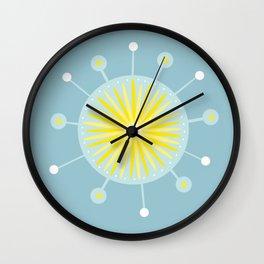 Radiolarian 8 Wall Clock