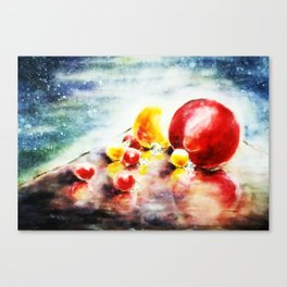 Cosmic Baubles Canvas Print