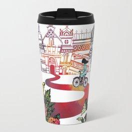 Summer Cycling Travel Mug