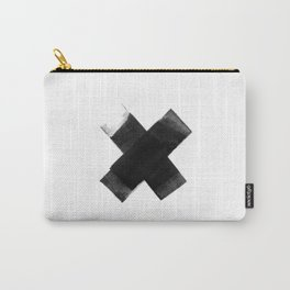 The Black X  Carry-All Pouch