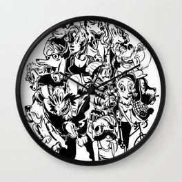The Arthounds Wall Clock