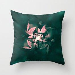 Arranged to Fall Throw Pillow