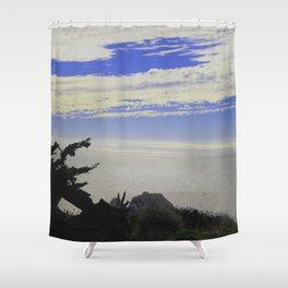 Skies2 Shower Curtain