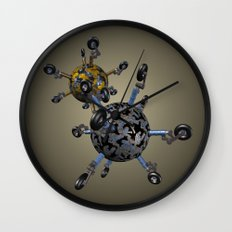 Gear Balls Wall Clock