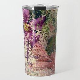 Garden shabby texture Travel Mug