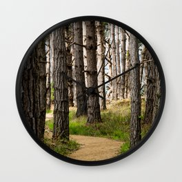 Path to the Sea (Point Lobos) Wall Clock