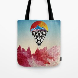 Heads on Sticks Tote Bag