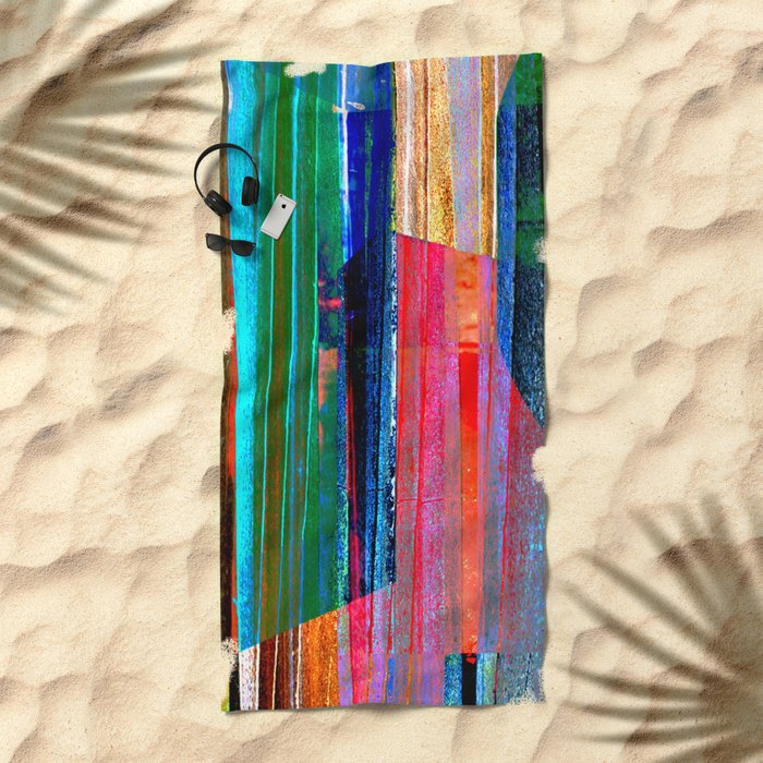 Iron Curtain Beach Towel