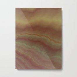 Pink Onyx Metal Print