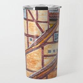 Scandinavian Architecture. Travel Mug
