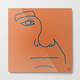 Bill Murray - Steve Zissou palette Metal Print
