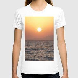 Sunrise at Tiran Island T-shirt