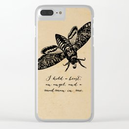 Dylan Thomas - Madman Clear iPhone Case