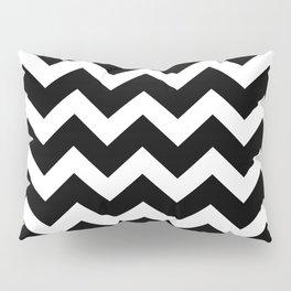 Chevron Black & White Pillow Sham