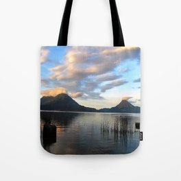 Lago Atitlan Sunrise Tote Bag