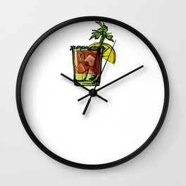 Bloody Mary Breakfast of Champions Wall Clock