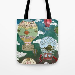 Hot Air Balloons I Tote Bag