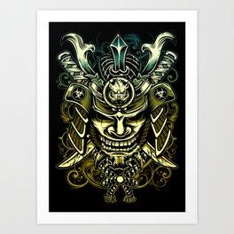 Revenge of Samurai Art Print
