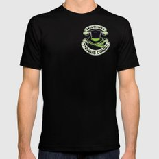 The Vicious Circus Badge - Color Mens Fitted Tee Black MEDIUM