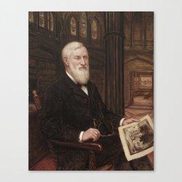 ROBERT J. WICKENDEN James Edmund Scripps 1907 Canvas Print