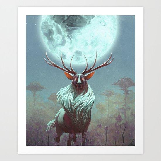 Night Prince Art Print