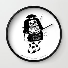 The Unemployed - Daffy Wall Clock